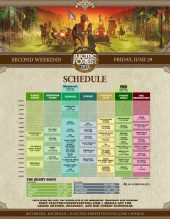 Electric Forest 2018 Wknd 2 Set Times Friday