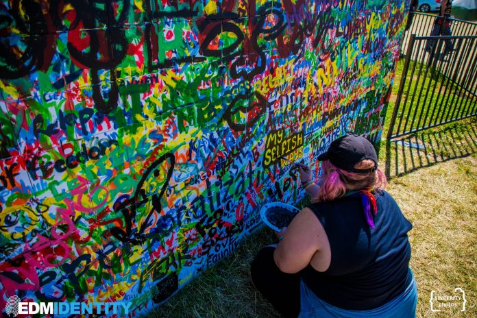 Electric Forest Weekend 2 Community Mural