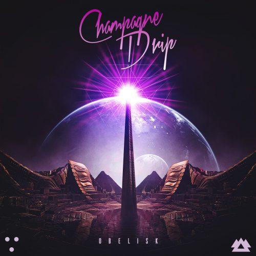 champagne drip obelisk