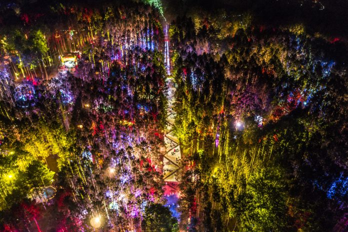 Electric Forest 2018 First Weekend Aerial