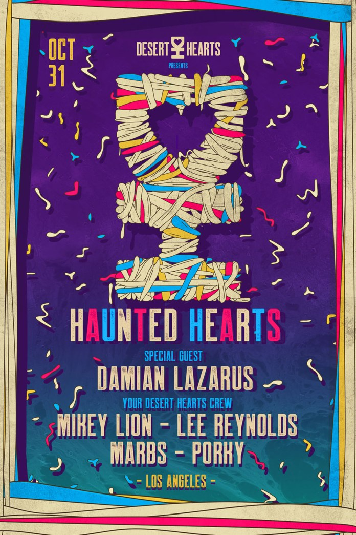 Haunted Hearts 2018 Lineup Flyer