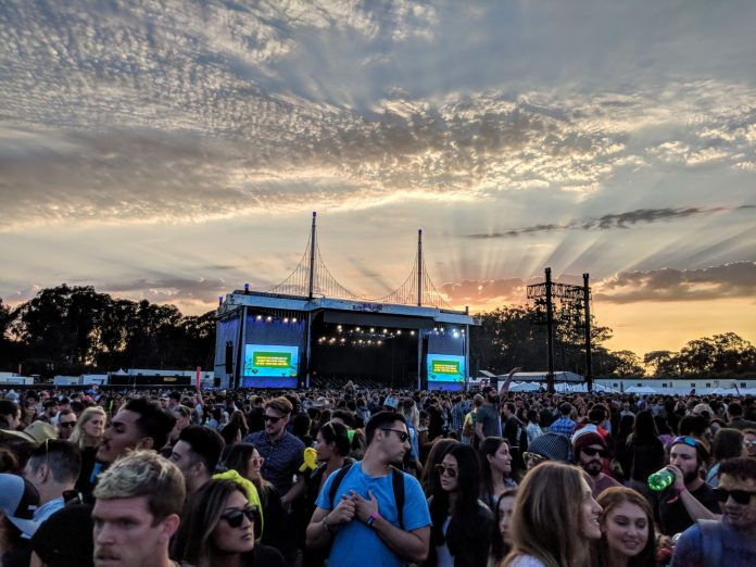 ODESZA Sunset Outside Lands 2018