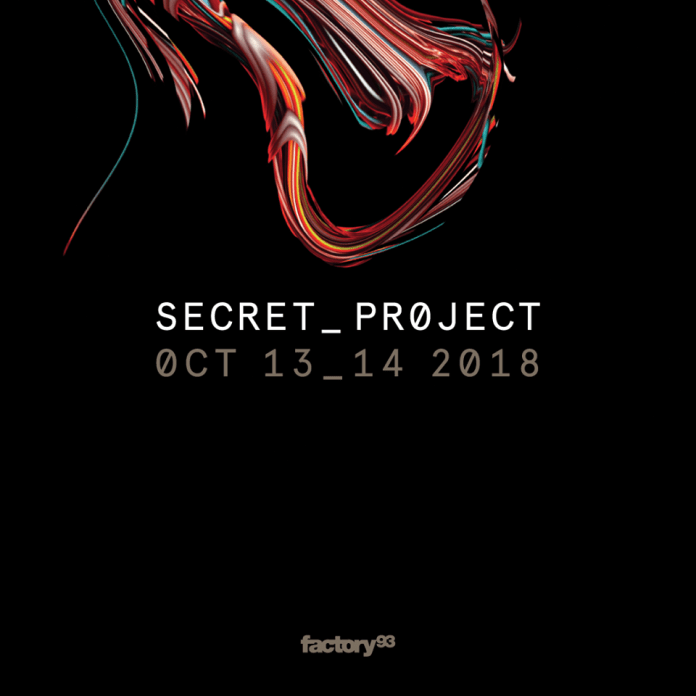 Secret Project Festival Flyer