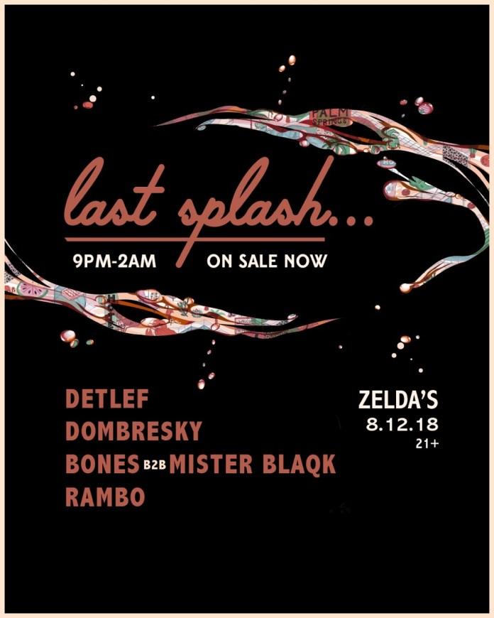 Splash House 2018 Last Splash Flyer