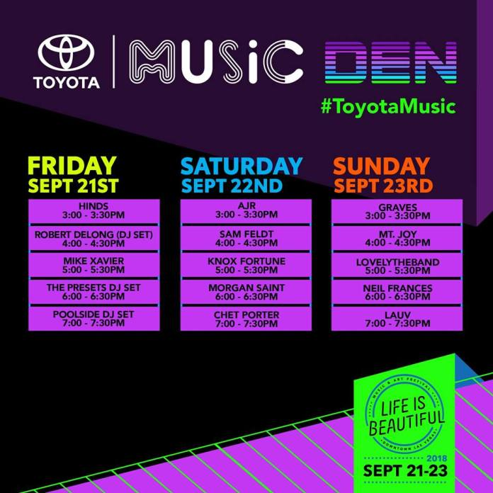 Toyota Music Den