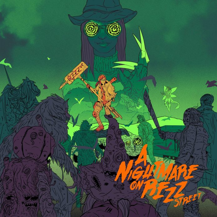 Nightmare on Rezz Street Cover
