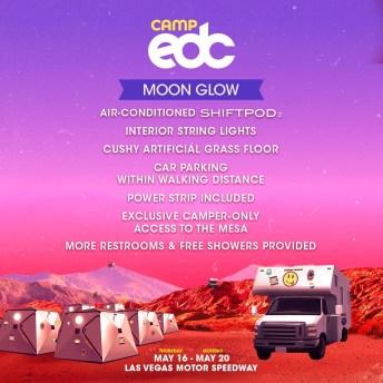 Camp EDC 2019 Moon Glow