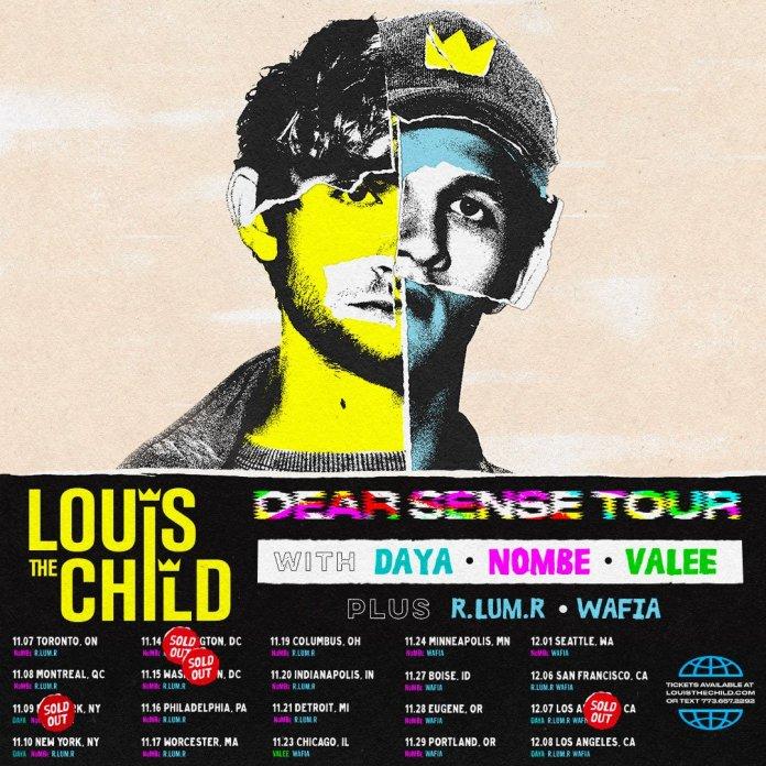 Louis The child Dear Sense Tour