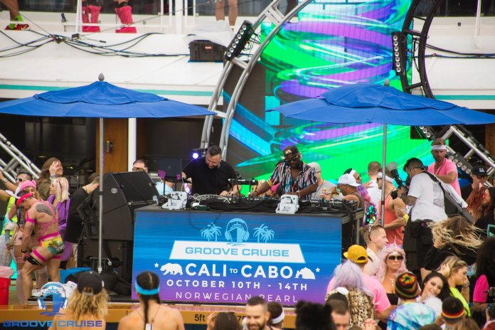 groove cruise cabo 2018 scooter & lavelle