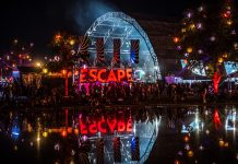 Escape: Psycho Circus 2018 Sign