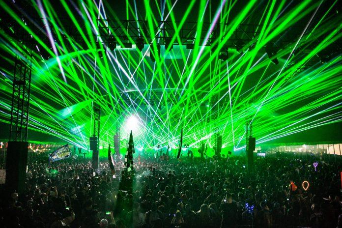 Escape: Psycho Circus 2018 Lasers