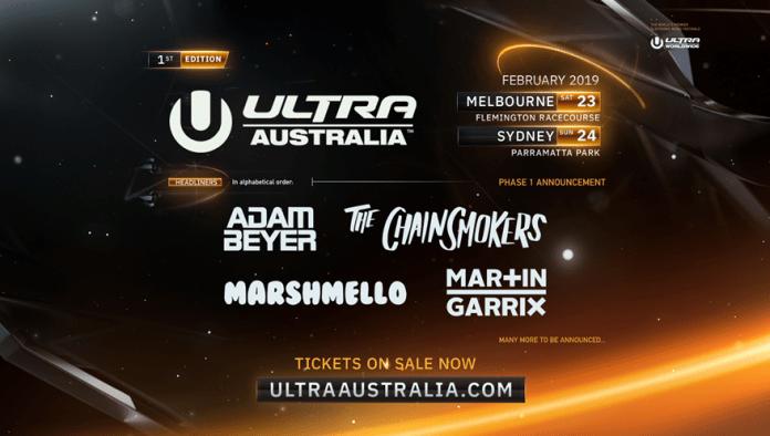 Ultra Australia 2019 Lineup