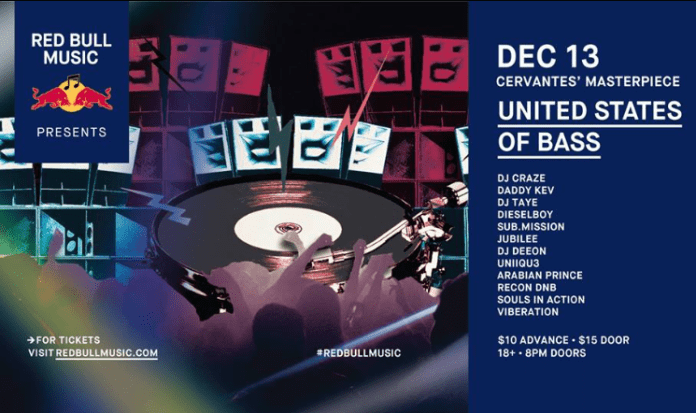 Red Bull Radio United States of Bass Denver Lineup
