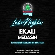 SnowGlobe 2018 Late Nights Ekali