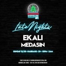 SnowGlobe 2018 Late Nights Ekali