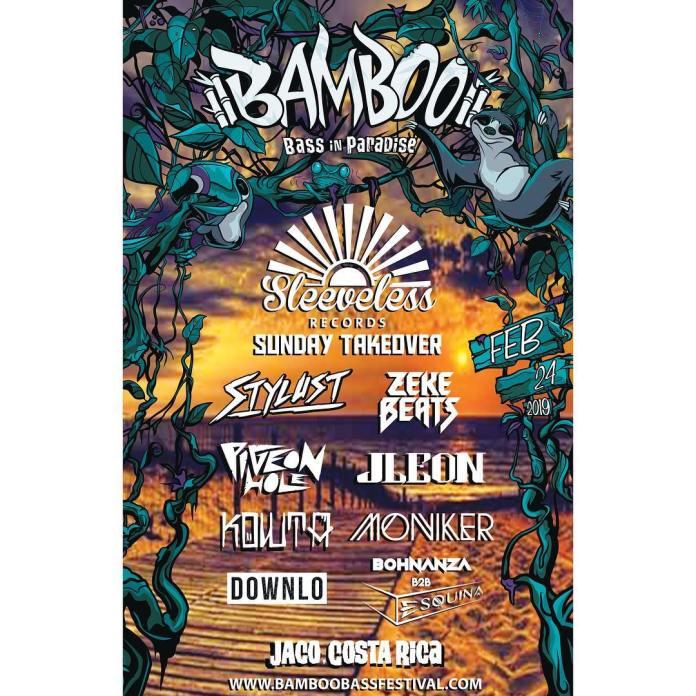 Sleeveless Records Bamboo Bass Festival 2019