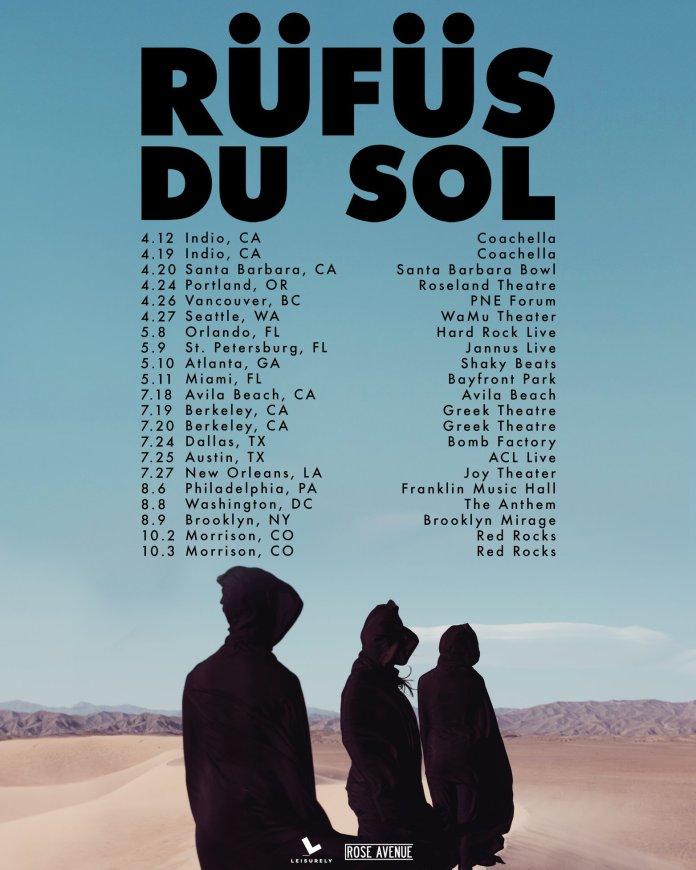 RÜFÜS DU SOL Tour Dates 2019