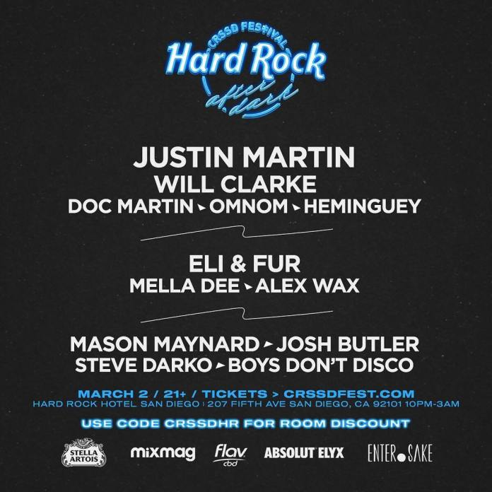 CRSSD Festival Spring 2019 After Dark Hard Rock