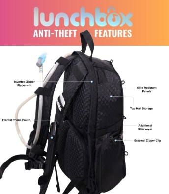 Lunchbox Anti-Theft Features
