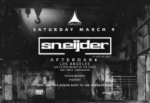 Sneijder: Afterdark Los Angeles at Avalon Hollywood