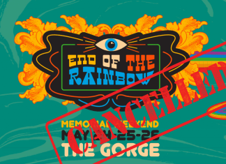 End of the Rainbow Cancelled
