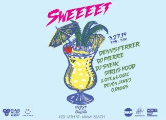 Sweeeet Miami Music Week 2019