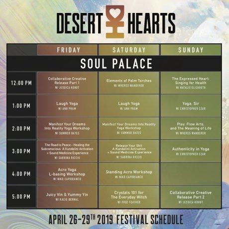 Desert Hearts 2019 - Soul Palace