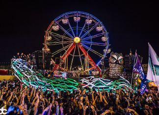 EDC Las Vegas 2018 Parliament Art Car Camp EDC