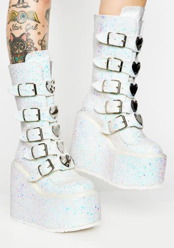 Dollskill Frosted Lovesick Trinity Boots