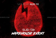 Subtle Presents a Warehouse & Block Party featuring DIrtybird Artist's