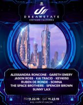 Dreamstate SoCal 2019 Lineup Announcement 2