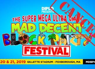 Super Mega Ultra Giant Mad Decent Block Party Cancelled