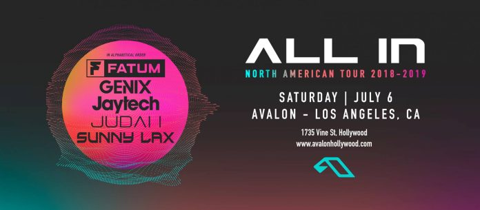 All In North American Tour