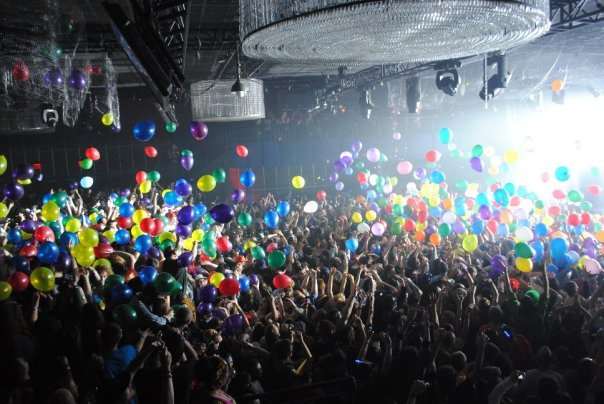 Playstation Theater Balloon Drop