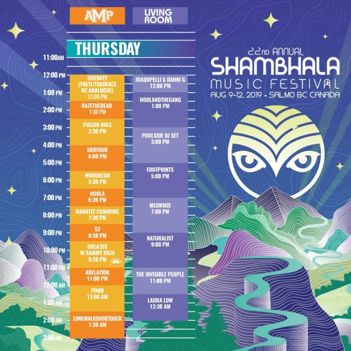 Shambhala Music Festival 2019 Thursday