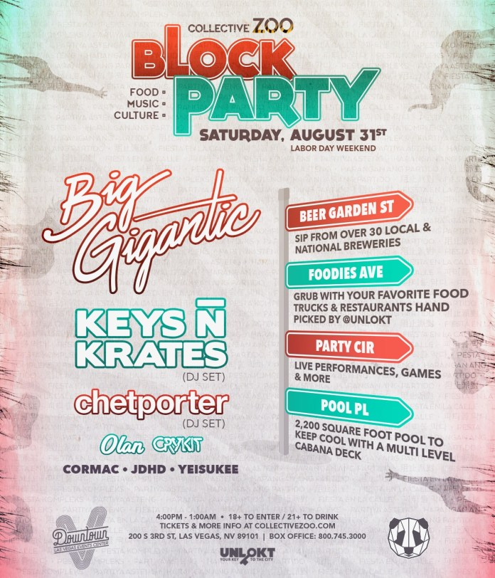 Collective Zoo Block Party 2019 Lineup