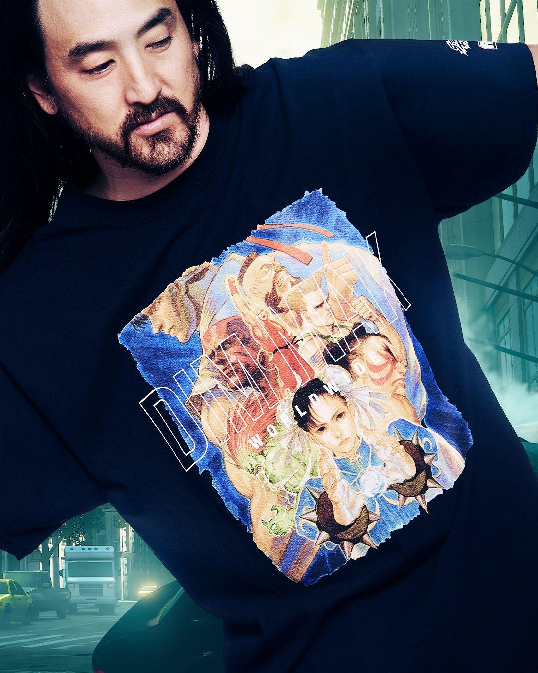 Steve Aoki Street Fighter Apparel