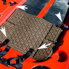 Larry Chair Kayak Outdoor Reclining Lounge Securing The To Your Diablo Adios Ed Mitchell Outdoors Mat And Four Anchor Points