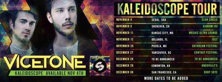 vicetone tour dates