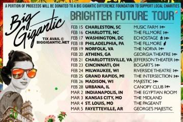 big gigantic brighter future winter tour