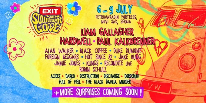 Exit Festival Flyer