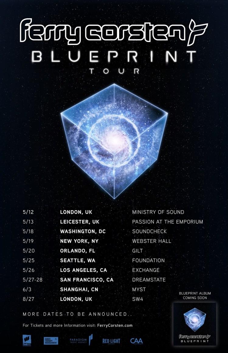 Blueprint Tour Flyer