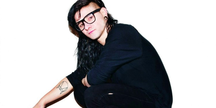 Skrillex New Press Shot
