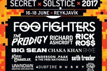 secret solstice into the glacier