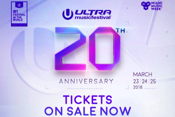 Tickets For Ultra Music Festival's 20th Anniversary On ...