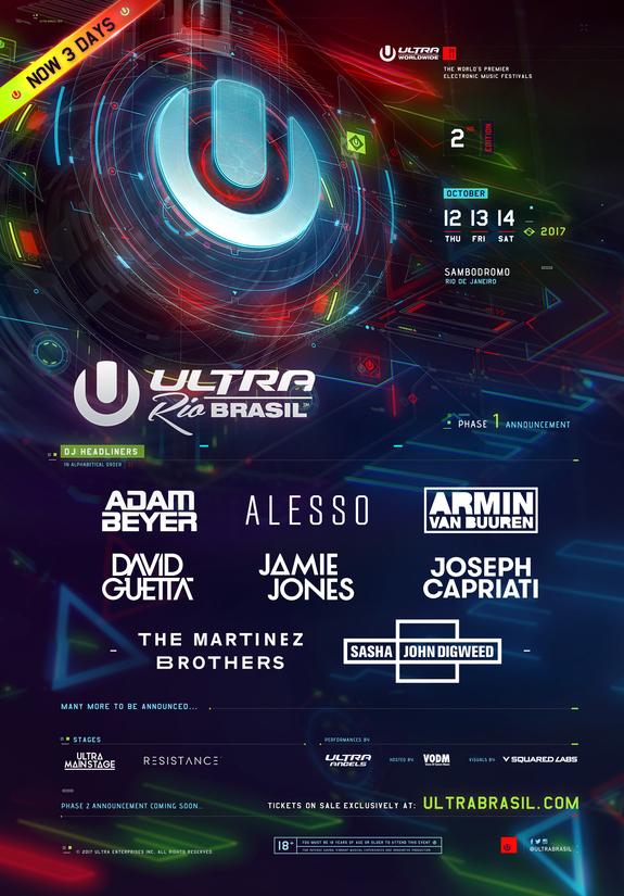 Ultra Brasil 2017 Flyer