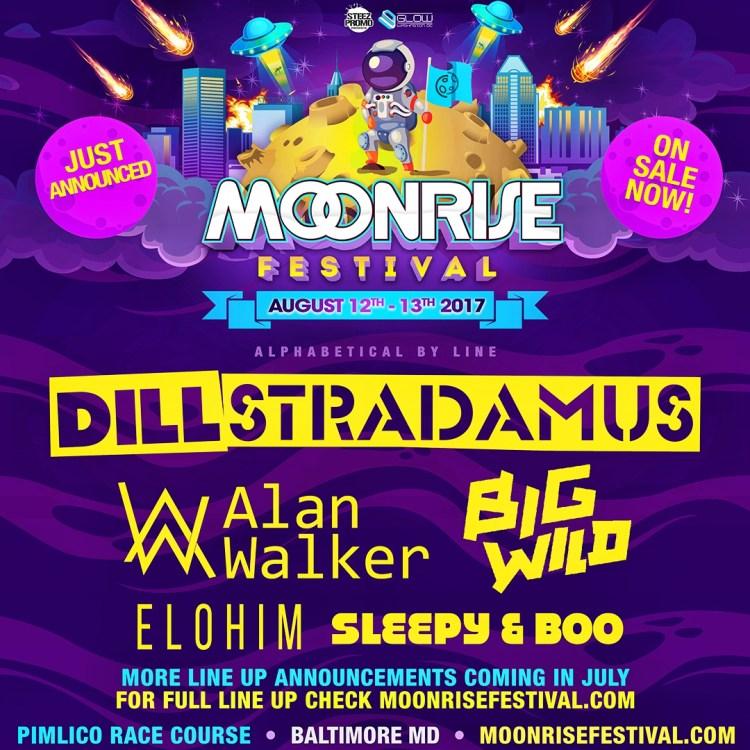 Moonrise Festival Flier 2017