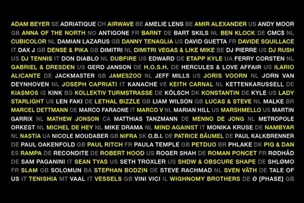 ade 2017 lineup