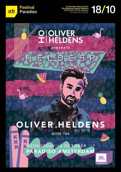 Heldeep Records Party Flier