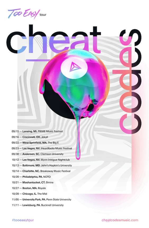 Cheat Codes Two Easy 2017 Flyer